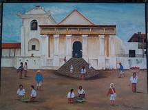 Adonias Mendoza -- The Cathedral at Santiago Atitlan
