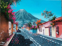 Israel T. S. -- View of Antigua and Volcan Agua #2