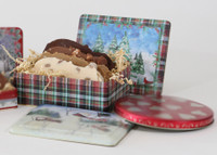 Fudge Gift Tin - 4 Slice