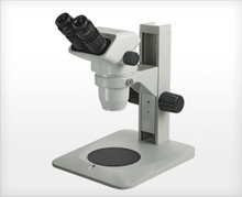 Accu-Scope 3075 Binocular Zoom Stereo Microscope on Plain Focusing Stand