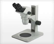 Accu-Scope 3075 Binocular Zoom Stereo Microscope on Plain Focusing Stand