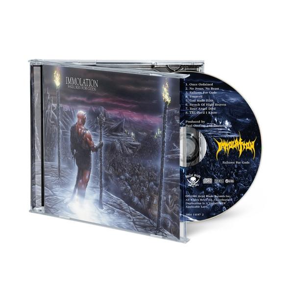 """""""Failures For Gods"""" CD"""
