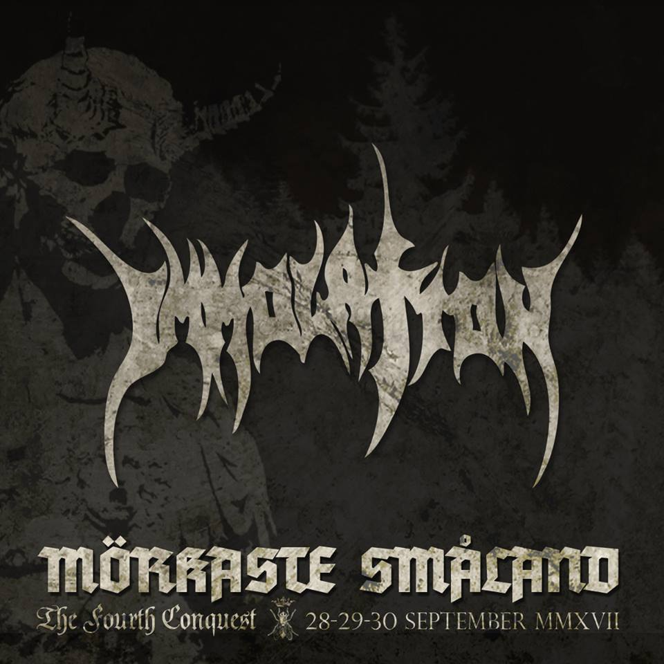 IMMOLATION at the Morkaste Smaland Festival