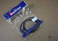 Genuine Weltron Network Cables 3' Black RJ-45 M  Patch Cable 90-C5EB-3BK