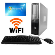 HP Desktop Core 2 Duo 3.00GHZ 4GB 1TB DVDCDRW Windows 7 PRO 64 Bit , WIFI