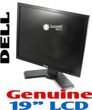 """Dell 1908FPF 19"""" LCD Monitor -Black-"""