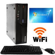 IBM Lenovo Thinkcentre M58 PC Desktop Computer Core 2 Duo 3.0GHz 4GB 160GB DVD Windows 7 WIFI
