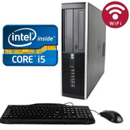 HP 6200 Elite Desktop Core i5-2500 3.3GHZ 500GB 4GB DVDRW WIFI Windows 7 PRO