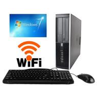 HP  8000 Elite Core 2 Duo 3.0GHz Desktop Computer PC 8GB 1TB Ready Windows 10 Pro WiFi