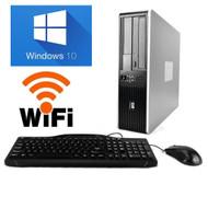 Fast HP Desktop PC Computer  Core 2 Duo Monitor 8GB Ram 1TB  WiFi Windows 10