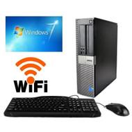 Dell Optiplex 3010 Desktop Computer PC i3-3240 3.4GHZ 250GB 4GB DVDRW WIFI Windows 7 PRO