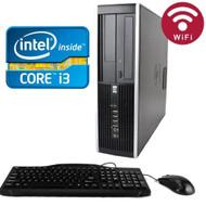 HP 8200 Elite Desktop Core i3-2100 3.10GHZ 1TB 8GB DVDRW WIFI Windows 7 PRO