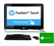 HP Pavilion 21-H013W TouchSmart All-in-One Desktop PC Pentium G3220 2.6GHz 8GB 1TB Windows 10 64 Bit