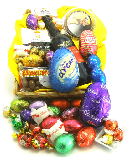 216 E7 - Easter Tiddles - contains Port and chocolate