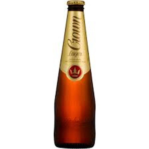crown lager 375ml