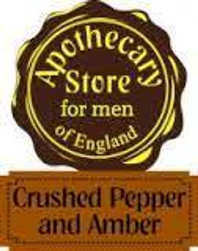815ap  Apothecary Crushed Amber boxed set - includes freight