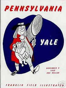 Yale v. Penn Football Program 1968