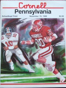 Penn v. Cornell Football Program 1988