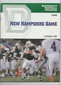 Dartmouth v. New Hampshire Football Program 1993