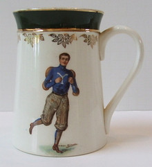 Yale University Antique F. Earl Christy Mug - Football