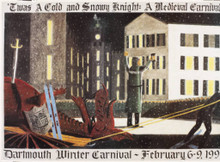 Dartmouth Winter Carnival - Original Poster 1997