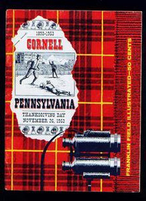 Penn v. Cornell Football Program 1953