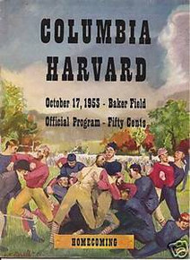 Columbia v. Harvard Football Program 1953