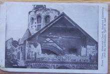 Stanford Postcard - Earthquake Memorial Church