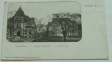 Brown University Postcard - Sayles & Wilson Hall