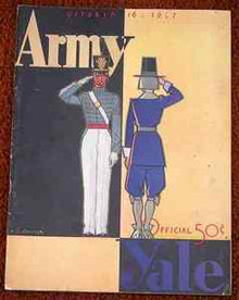 Army v .Yale Football Program 1937 Gerald Ford