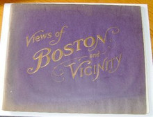 Views of Boston and Harvard early 20th Century
