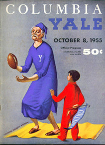 Columbia v. Yale Football Program 1955