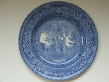 Princeton Wedgwood Plate - Blair Tower