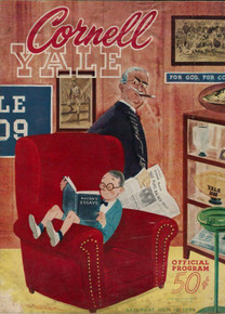 Cornell v. Yale College Football Program 1954