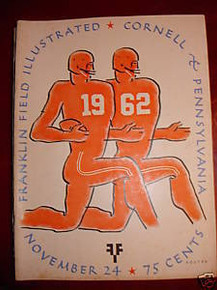 Cornell v. Penn Football Program 1962