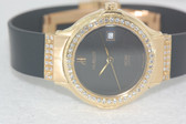 Womens Hublot 18k Gold Watch