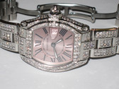 Womens Diamond Cartier Roadster Watch
