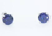2 Carat Birthstone Earrings - S74