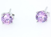6 Carat Birthstone Earrings - S78