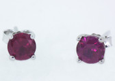 7 Carat Birthstone Earrings - S79