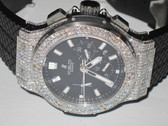 Mens Hublot Big Bang Chronograph Diamond Watch - MHUB13