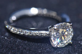CR - ENGAGEMENT RING & WEDDING BAND SET - ENG16