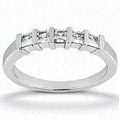 Princess Bar Set Diamond Wedding Band - WB2764