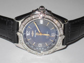 Mens Breitling Chronomat Wings Diamond Watch - MBRT12