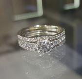 1.00 Total Diamond Carat Weight - Endless Diamond Setting