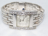 Womens Chopard Classique Happy H Square 18K Gold