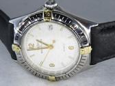 Mens Breitling Chronomat Callistino 18K Gold Watch - MBRT11