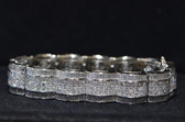18K White Gold with 40 total diamond carat weight