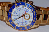 44mm Case Size - 18k Yellow Gold