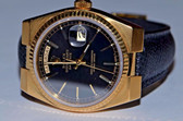 Mens Rolex Day-Date Oysterquartz President 18K Solid Gold Watch